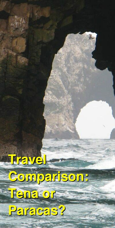 Tena vs. Paracas Travel Comparison