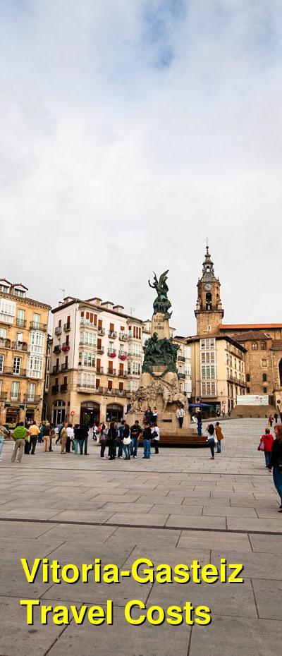 Vitoria-Gasteiz Travel Cost - Average Price of a Vacation to Vitoria-Gasteiz: Food & Meal Budget, Daily & Weekly Expenses | BudgetYourTrip.com
