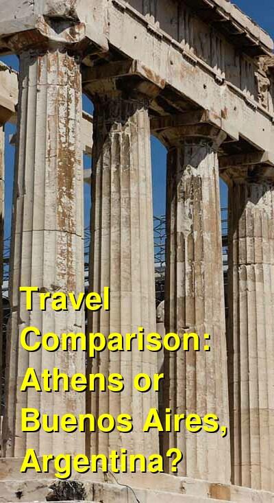 Athens vs. Buenos Aires, Argentina Travel Comparison