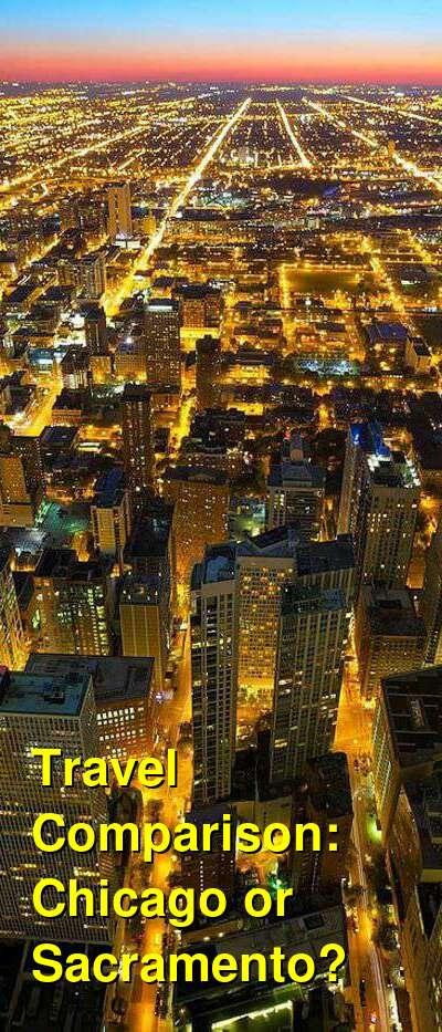Chicago vs. Sacramento Travel Comparison
