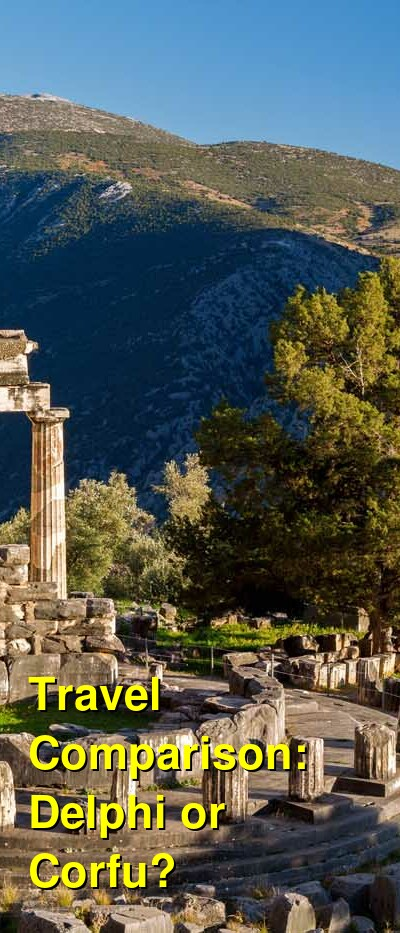 Delphi vs. Corfu Travel Comparison
