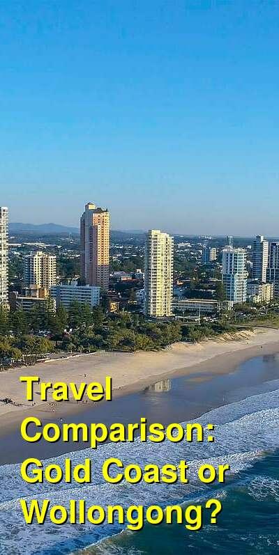 Gold Coast vs. Wollongong Travel Comparison