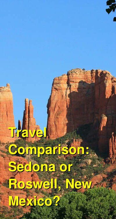 Sedona vs. Roswell, New Mexico Travel Comparison
