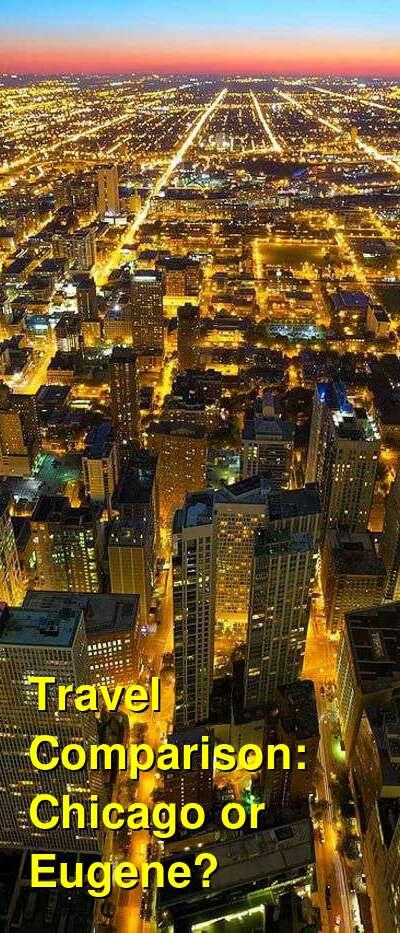 Chicago vs. Eugene Travel Comparison