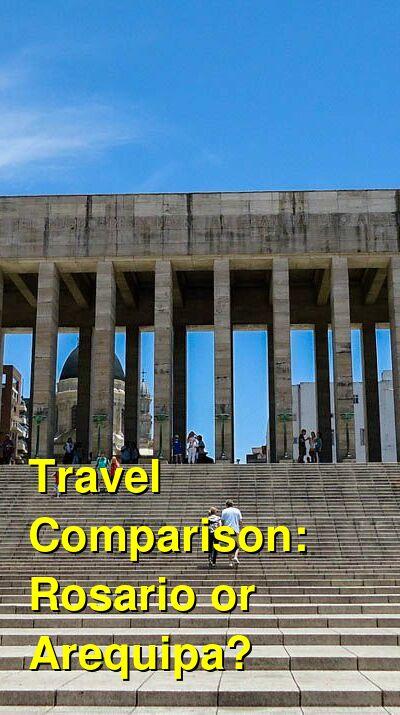 Rosario vs. Arequipa Travel Comparison