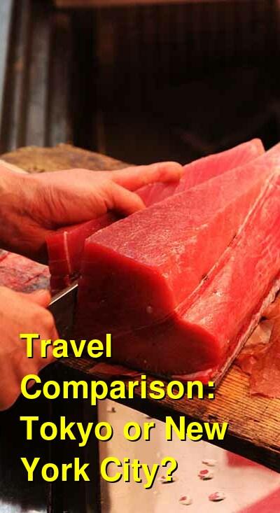 Tokyo vs. New York City Travel Comparison