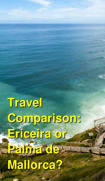 Ericeira vs. Palma de Mallorca Travel Comparison
