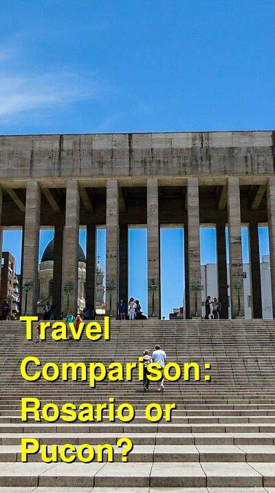 Rosario vs. Pucon Travel Comparison