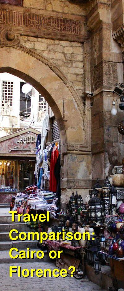 Cairo vs. Florence Travel Comparison