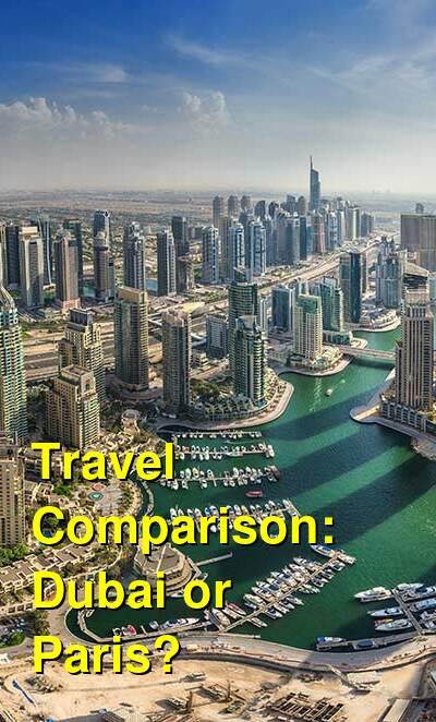 Dubai vs. Paris Travel Comparison