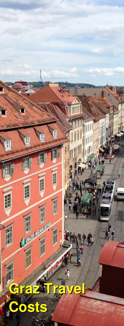 Graz Travel Cost - Average Price of a Vacation to Graz: Food & Meal Budget, Daily & Weekly Expenses | BudgetYourTrip.com