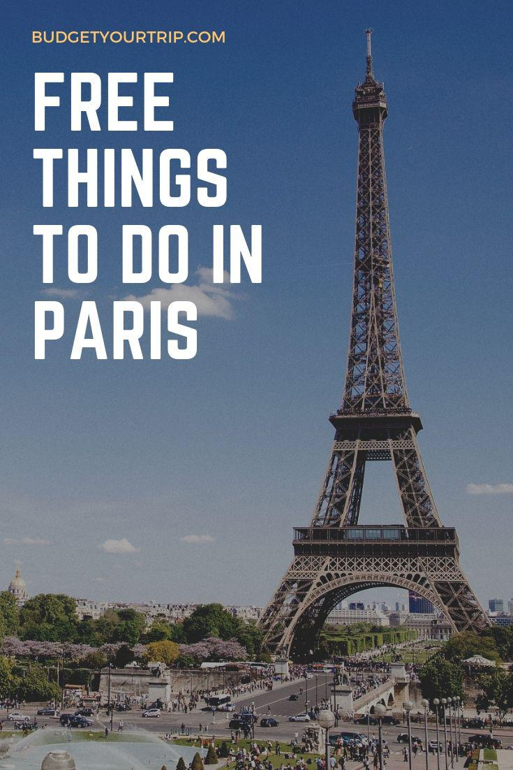 Free Activities and Things to do in Paris | Budget Your Trip