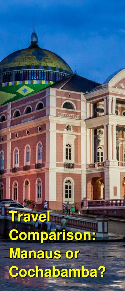 Manaus vs. Cochabamba Travel Comparison