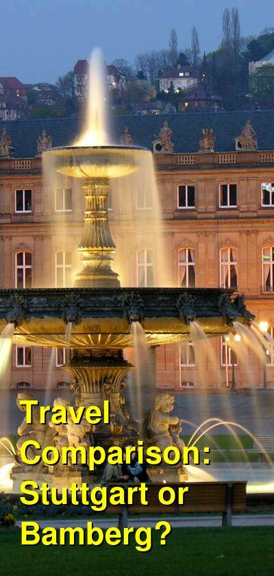 Stuttgart vs. Bamberg Travel Comparison