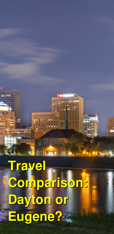 Dayton vs. Eugene Travel Comparison