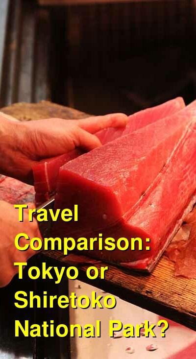 Tokyo vs. Shiretoko National Park Travel Comparison