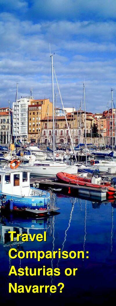 Asturias vs. Navarre Travel Comparison