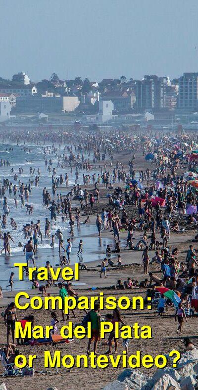 Mar del Plata vs. Montevideo Travel Comparison
