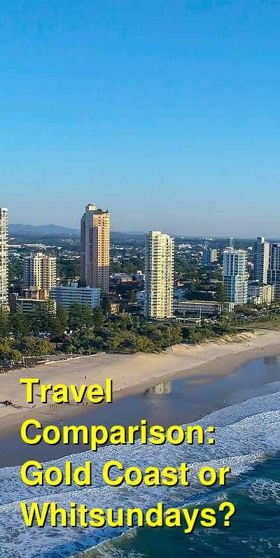 Gold Coast vs. Whitsundays Travel Comparison