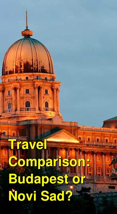Budapest vs. Novi Sad Travel Comparison