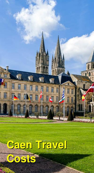 Caen Travel Cost - Average Price of a Vacation to Caen: Food & Meal Budget, Daily & Weekly Expenses | BudgetYourTrip.com