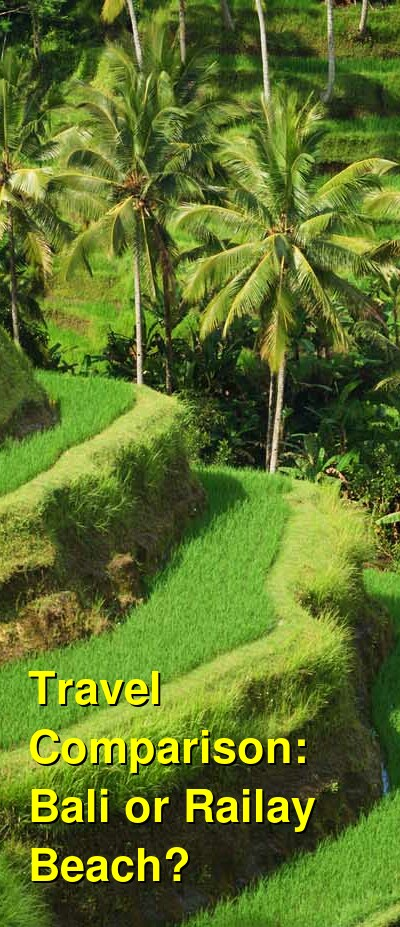Bali vs. Railay Beach Travel Comparison