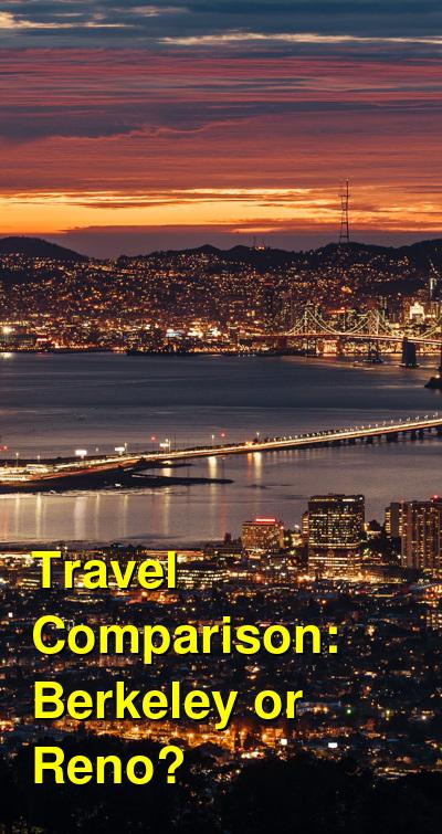 Berkeley vs. Reno Travel Comparison