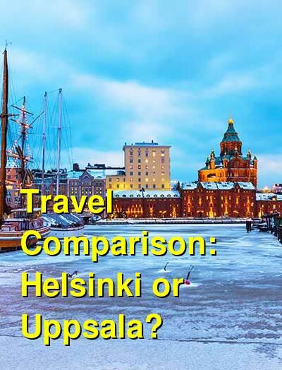 Helsinki vs. Uppsala Travel Comparison