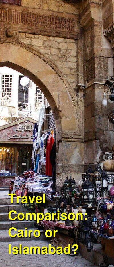 Cairo vs. Islamabad Travel Comparison