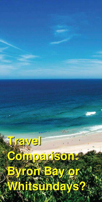 Byron Bay vs. Whitsundays Travel Comparison