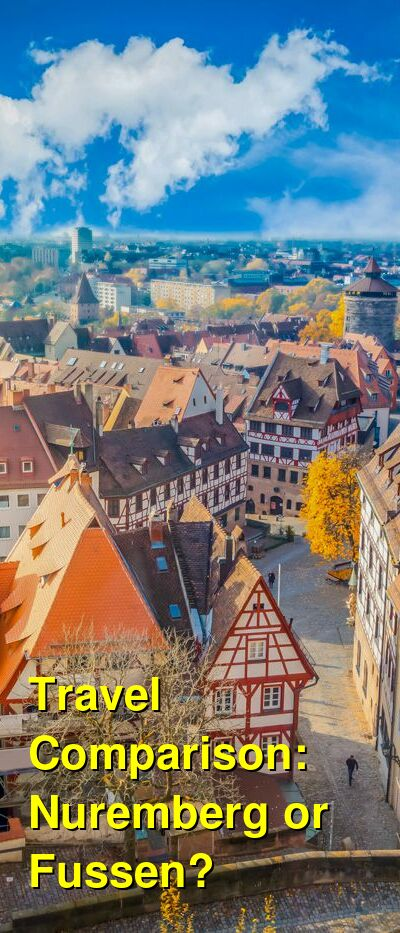 Nuremberg vs. Fussen Travel Comparison