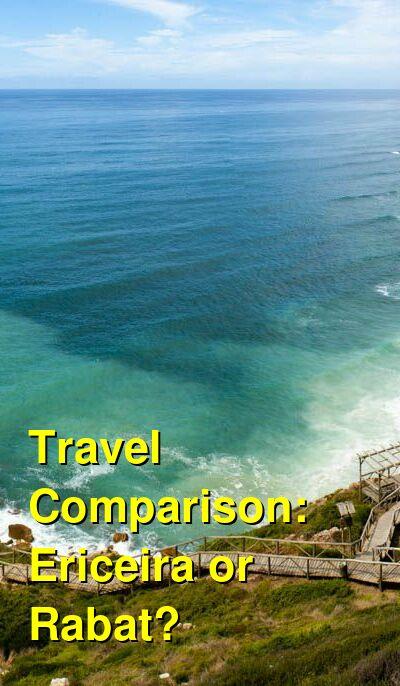 Ericeira vs. Rabat Travel Comparison