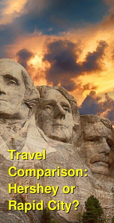 Hershey vs. Rapid City Travel Comparison