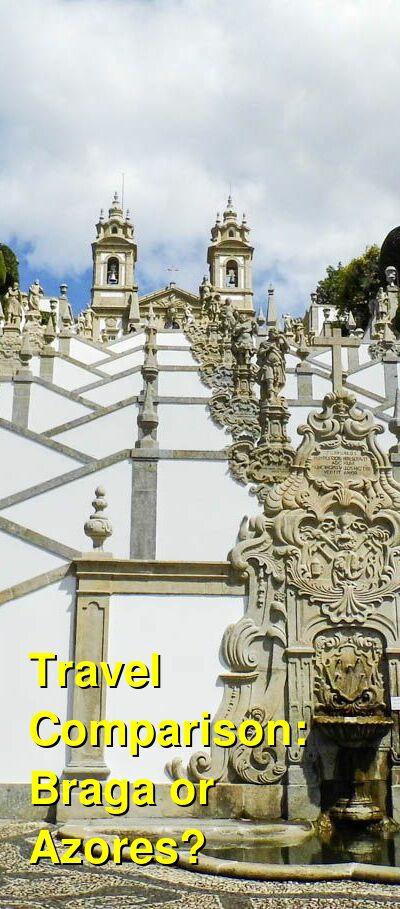 Braga vs. Azores Travel Comparison