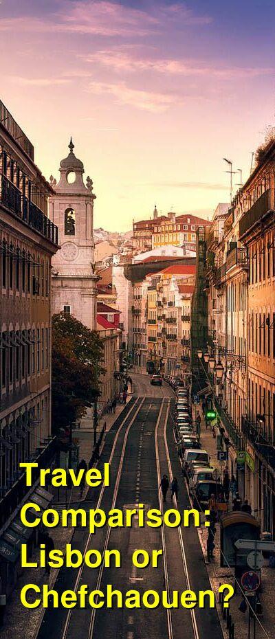 Lisbon vs. Chefchaouen Travel Comparison