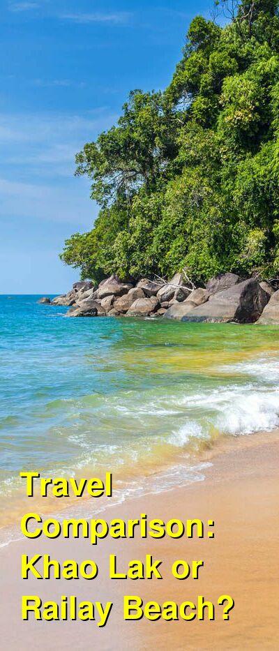 Khao Lak vs. Railay Beach Travel Comparison