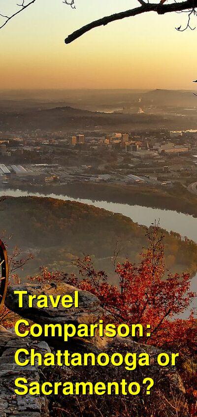 Chattanooga vs. Sacramento Travel Comparison