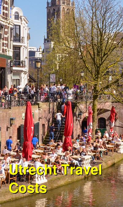 Utrecht Travel Cost - Average Price of a Vacation to Utrecht: Food & Meal Budget, Daily & Weekly Expenses | BudgetYourTrip.com