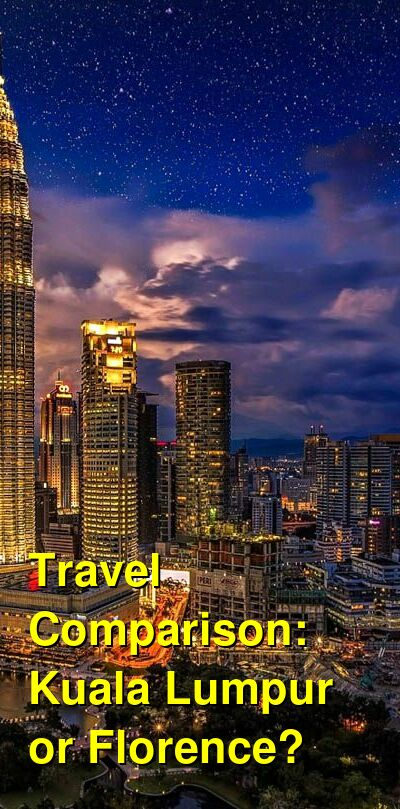 Kuala Lumpur vs. Florence Travel Comparison