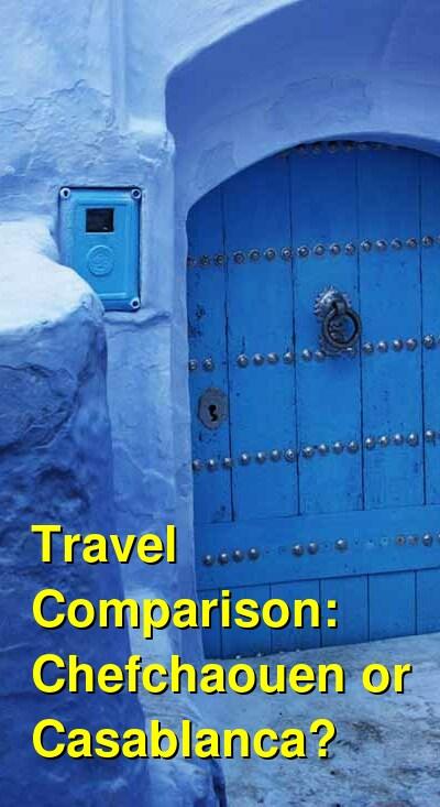 Chefchaouen vs. Casablanca Travel Comparison
