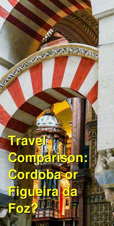 Cordoba vs. Figueira da Foz Travel Comparison