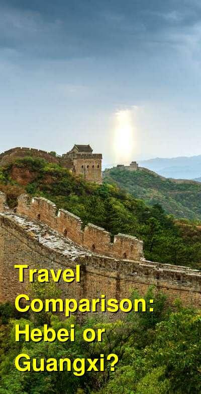 Hebei vs. Guangxi Travel Comparison