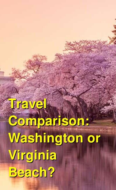 Washington vs. Virginia Beach Travel Comparison