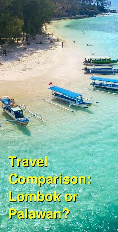 Lombok vs. Palawan Travel Comparison