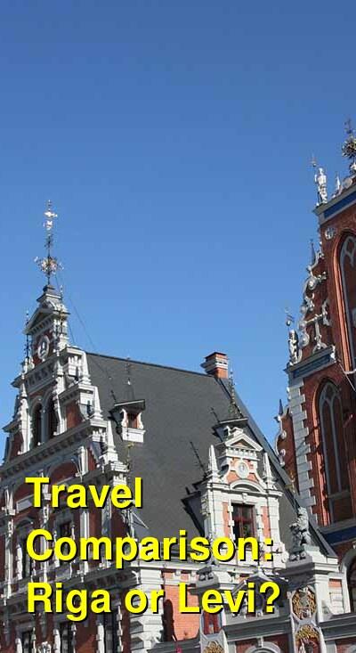 Riga vs. Levi Travel Comparison