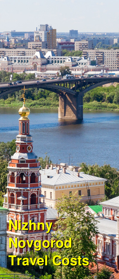 Nizhny Novgorod Travel Cost - Average Price of a Vacation to Nizhny Novgorod: Food & Meal Budget, Daily & Weekly Expenses | BudgetYourTrip.com