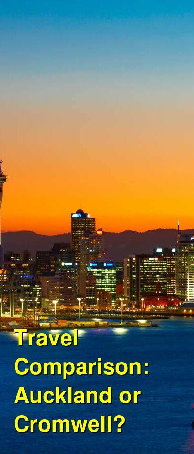 Auckland vs. Cromwell Travel Comparison