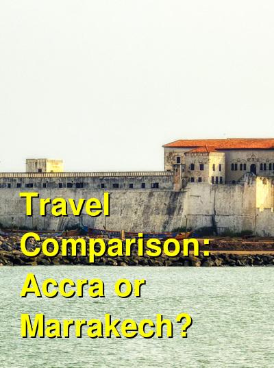 Accra vs. Marrakech Travel Comparison