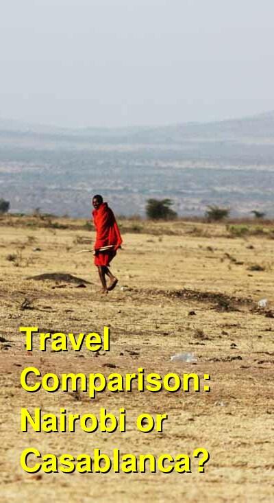 Nairobi vs. Casablanca Travel Comparison