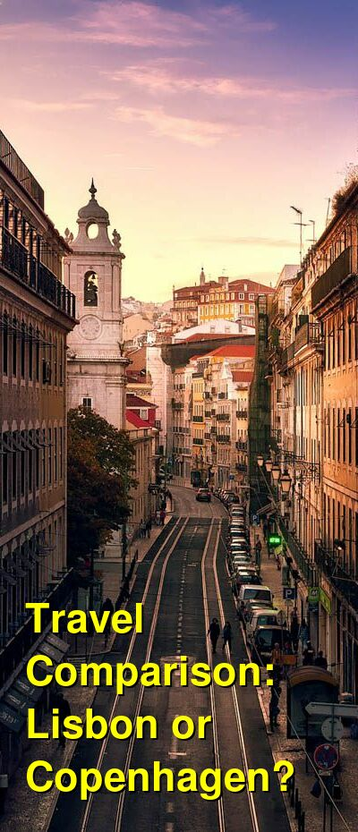 Lisbon vs. Copenhagen Travel Comparison